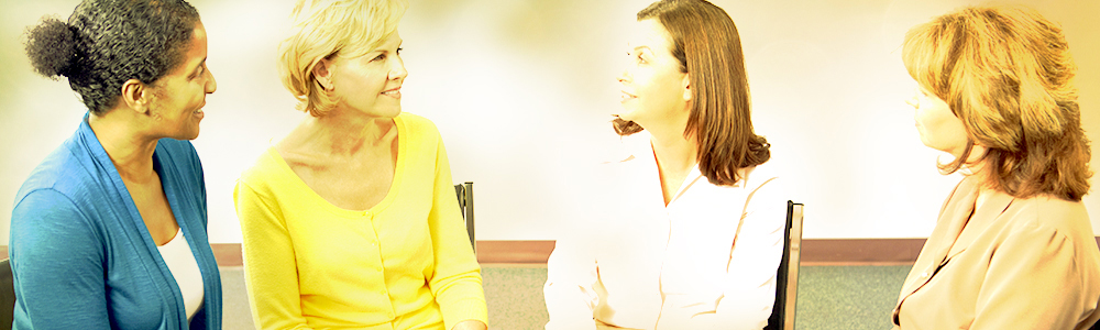 Conversation at a scleroderma support and self-help group meeting